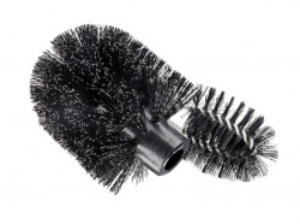 Rezerva perie neagra din plastic pentru toaleta Edge Cleaner Wenko