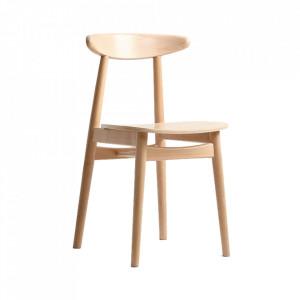 Scaun dining maro din lemn Polly Custom Form