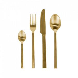 Set 16 tacamuri aurii din inox Lite La Forma