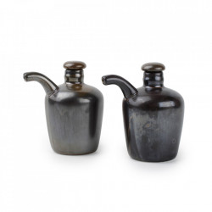 Set 2 recipiente din portelan pentru ulei sau otet 160 ml Escura Fine2Dine