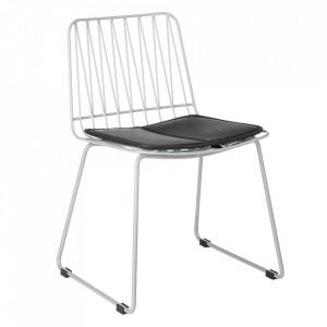 Set 2 scaune gri din metal Hippy Kids Depot