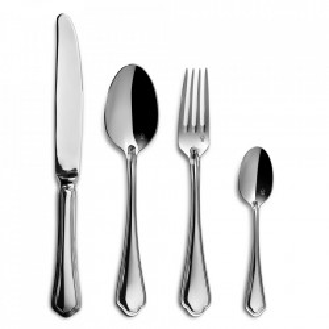 Set 24 tacamuri argintii din inox Sangiovese Culter