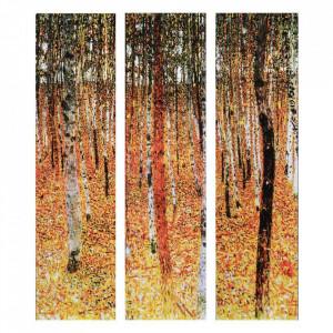 Set 3 tablouri multicolore din MDF 120x150 cm Autumn Ixia