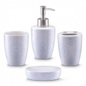Set 4 accesorii baie din ceramica Dolla Zeller