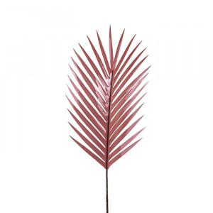 Set 8 plante artificiale roz din plastic si metal 97 cm Frond Palm Richmond Interiors