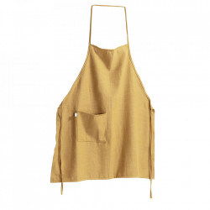 Sort bucatarie galben din textil Samay La Forma