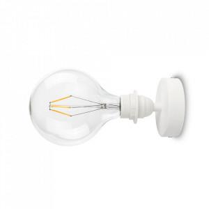Spot alb din otel si cauciuc termoplastic Uno Plus Bulb Attack