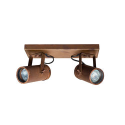Spot aspect rugina cu 2 LED-uri Scope-2 Rust Dutchbone