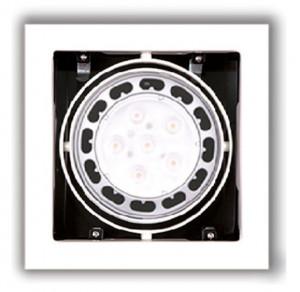 Spot cu halogen alb din metal Matrix White Maxlight