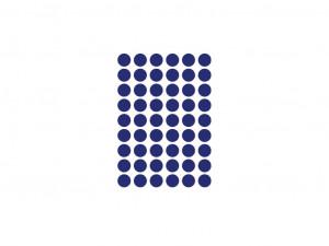 Sticker albastru pentru perete Mini Dots Blue Ferm Living