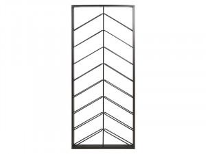 Suport din fier negru pentru sticle 70x6x160 cm Otma Santiago Pons