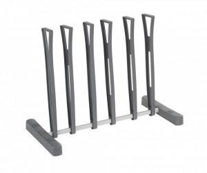 Suport din metal pentru 3 perechi de incaltaminte Ares Wenko
