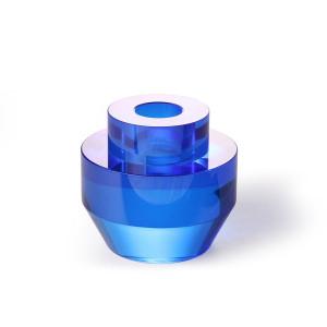Suport lumanare din sticla 7 cm Cobalt Round HK Living