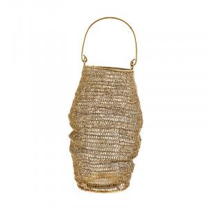 Suport maro alama din fier si sticla pentru lumanare 31 cm Senne Madam Stoltz