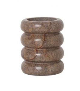 Suport maro pentru periute dinti din marmura 10,8 cm Bendum Ferm Living