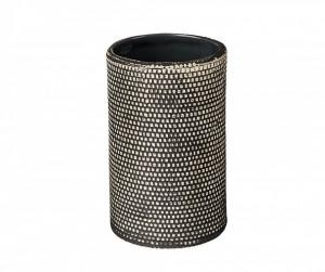 Suport negru din ceramica pentru periute 7 cm Mali Wenko