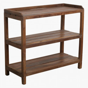 Suport pentru incaltaminte din lemn de tec Rovas Raw Materials