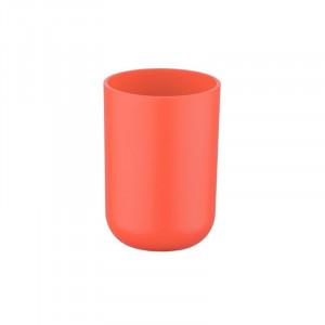 Suport rosu corai din elastomer termoplastic pentru periuta dinti 7,3x10,3 cm Brasil Wenko