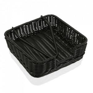 Suport servetele de bucatarie negru din polipropilena Marjan Versa Home