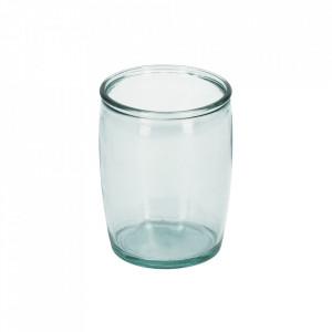 Suport transparent din sticla pentru periuta dinti 430 ml Trella Kave Home