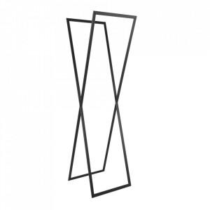Suport umerase negru din metal 175 cm Rosett Custom Form
