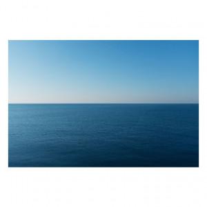 Tablou albastru din sticla 80x120 cm Sea Signal Meble