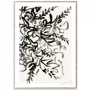 Tablou cu rama din lemn de stejar Writing Paper Collective