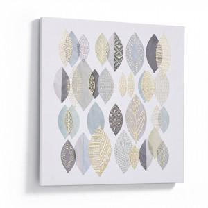 Tablou multicolor din hartie 60x60 cm Simple La Forma