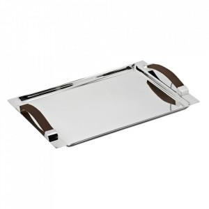 Tava din metal argintat 24x41 cm Kairo Edzard