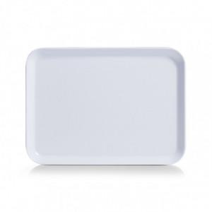 Tava dreptunghiulara alba din melamina 18x24 cm Jeremy Zeller