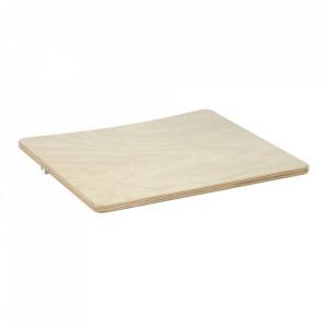 Tava pentru scaun maro din placaj 31x34 cm Nuun Kave Home