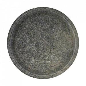 Tava rotunda verde din ceramica 30 cm Diva House Doctor
