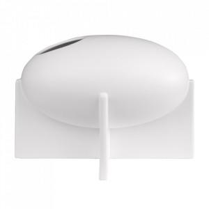 Vaza alba din ceramica 21 cm Ovo Versmissen