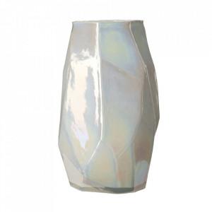 Vaza alba din sticla 40,5 cm Graphic L Pols Potten