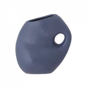 Vaza albastra din ceramica 16 cm Asya Bloomingville