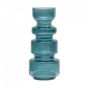 Vaza albastra din sticla 37 cm Expressive Be Pure Home