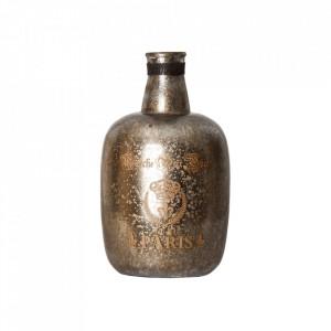 Vaza argintie/aurie din sticla 35 cm Hellen Vical Home