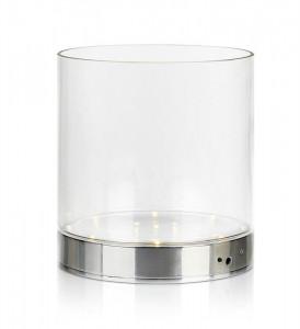 Vaza cu LED-uri din sticla 19,5 cm Bouquet Markslojd