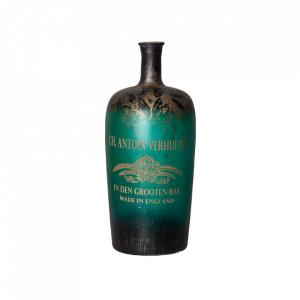 Vaza decorativa verde/aurie din sticla 37 cm Bosler Vical Home