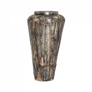 Vaza maro din lemn 97 cm Luose Amphora Vical Home
