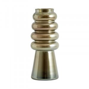 Vaza maro din sticla 30 cm Avarua Metallic Nordal