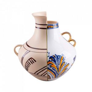 Vaza multicolora din portelan 25 cm Hybrid Nazca Seletti