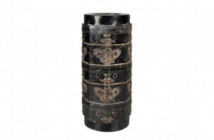 Vaza neagra din jad Cong Medium Versmissen