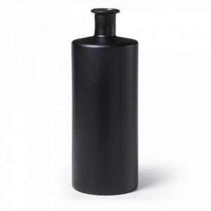 Vaza neagra din sticla 42 cm Laverne La Forma