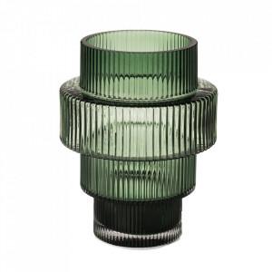 Vaza verde din sticla 15 cm Steps Pols Potten