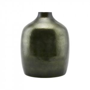 Vaza verde din sticla 24,5x29,5 cm House Doctor