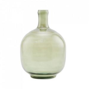 Vaza verde din sticla 32 cm Tinka House Doctor