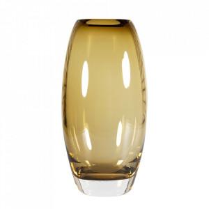 Vaza verde oliv din sticla 33 cm Bullit Versmissen