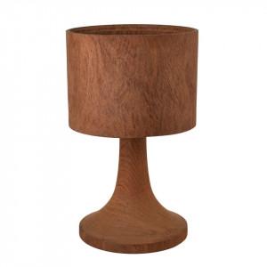 Veioza maro din lemn 56 cm Office Pols Potten