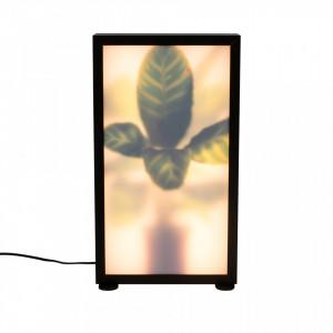 Veioza multicolora din aluminiu si sticla 60 cm Grow M Zuiver